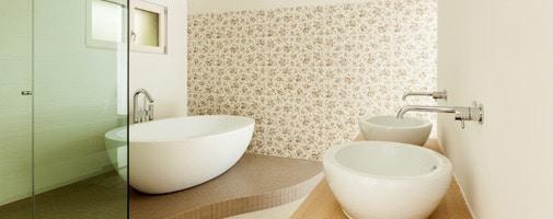Vliesbehang badkamer: Mogelijkheden, tips & Inspiratie