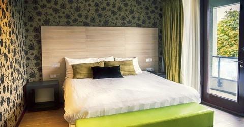 Behangpapier in de slaapkamer