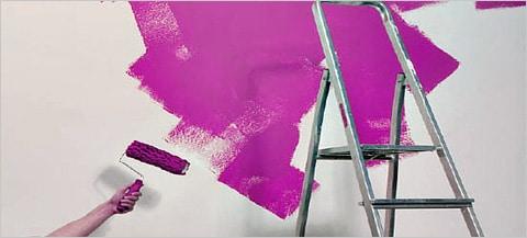 vinylbehang schilderen