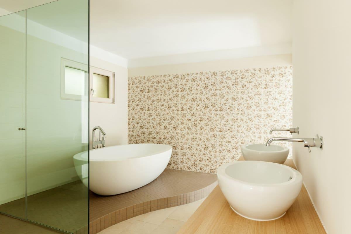 Badkamer Kopen Tips : Badkamer behang voordelen inspirerende voorbeelden