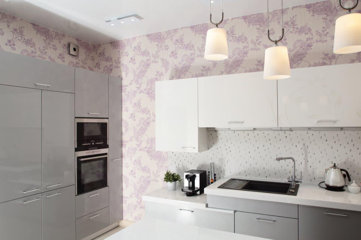 Behang Voor Keuken : Tegel behang keuken